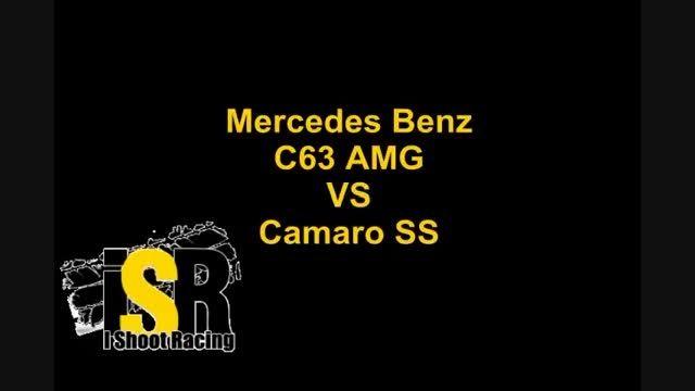 Mercedes Benz C63 AMG VS Camaro SS in ksa