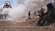 منفجر شدن مقر تروریست های  سوریه