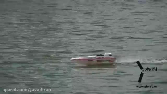 قایق کنترلی پر سرعت Blue Streak 7008