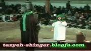 تعزیه امام حسین محسن گیوه کش روز عاشورای 92