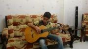 اجرای ملودی آهنگ سلطان قلبها با گیتار توسط سپهر بازیار