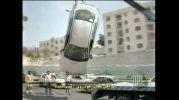 مراحل نجات خودرو اسیب دیده در ایران (ته خنده)