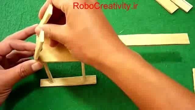 آموزش ساخت هلیکوپتر ساده در خانه (بسیار جذاب)