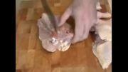 آموزش مرغ سوخاری