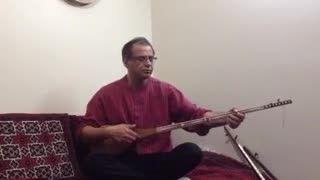 استاد مسعود خضری-دوتار-گیلاس