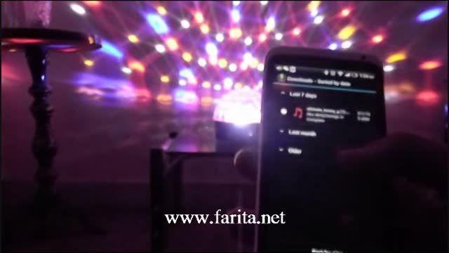 دستگاه رقص نور موزیکال بلوتوث دار Magic ball light