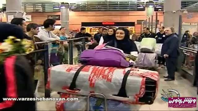 اخبار ورزشی بانوان, شبکه سه -19 آبان 94
