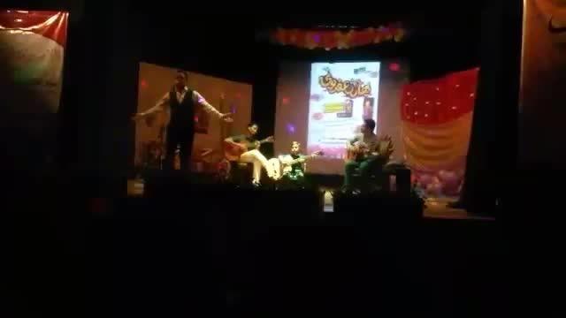اجرای زنده آهنگ ستایش مرتضی پاشایی توسط ماجد احمدی