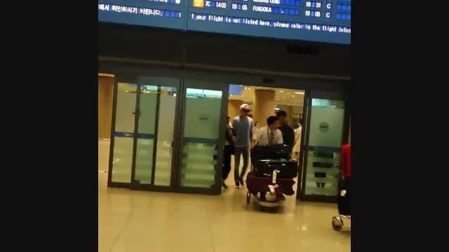 ♥اوپا لی مین هو♥ ۲۰۱۵.۸.۱ فرودگاه اینچئون