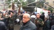فریاد لبیک یا زینب شیعیان در دمشق