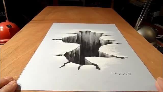 آموزش نقاشی سه بعدی- قسمت اول