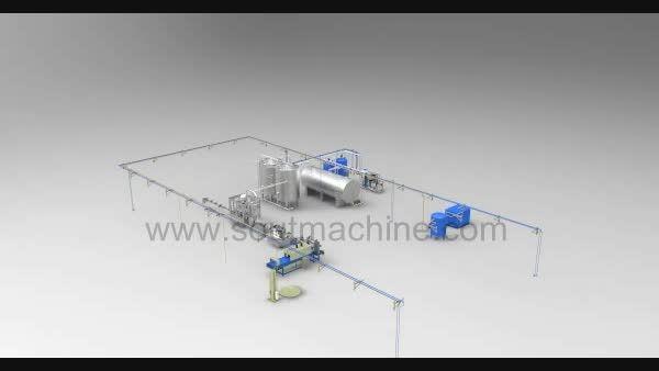 خط تولید آب معدنی و آب آشامیدنی - شرکت سوت ماشین