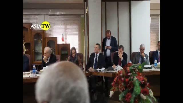 دیدار وزیر صنعت ایران و وزیر توسعه اقتصادی ایتالیا
