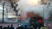 آتش سوزی مجدد انبار بازار مبل