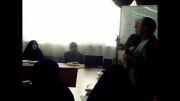 جناب آقای مرکزی در مورد اهداف برگزاری این کارگاه صحبت کردند.