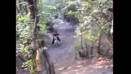 موتور سواری در کوهستان به سبک لری