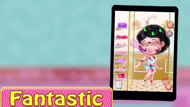 تریلر بازی دخترانه Princess Makeover: Girls Games v1.0