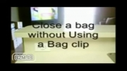 روش بستن پاکت بدون وسیله