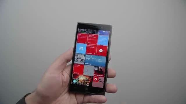 قابلیت کار با یک دست ویندوز 10 موبایل