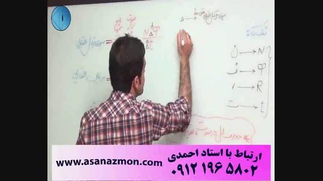 آموزش تکنیکی و فوق سریع فیزیک- کنکور 9