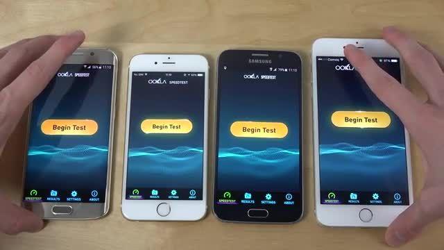 GS6 /Edge vs iPhone 6 vs iPhone 6 Plus - Internet