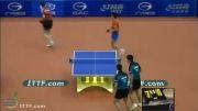 بازی دوبل (Yan An_Dimitrij Ovtcharov vs Yang Zi_Zhan Jian)