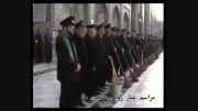 مراسم غبار روبی صحن های حرم مطهر امام رضا علیه السلام