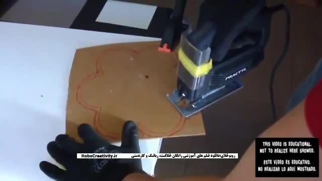 ساخت تفنگ دست ساز حرفه ای RoboCreativity.ir