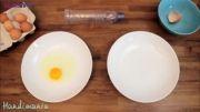 روش جالب و سریع جدا کردن زرده از سفیده تخم مرغ 8