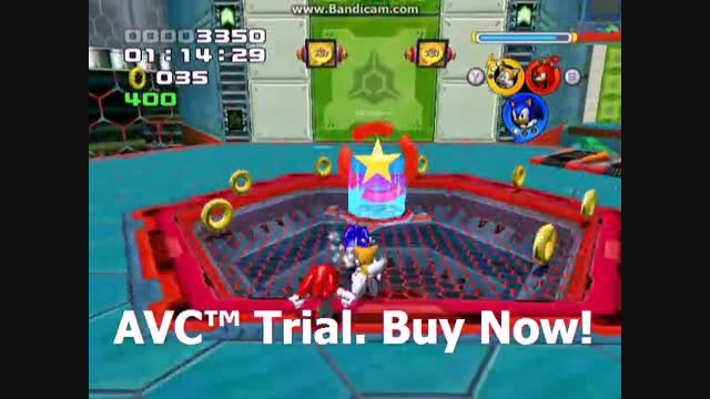 Sonic Heroes - Power Plant Stage 04 - Team Sonic