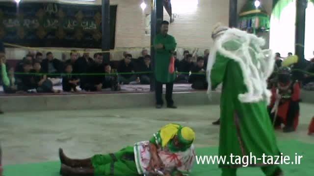 تعزیه روز عاشورا روستای طاق شهرستان دامغان آبان سال 94