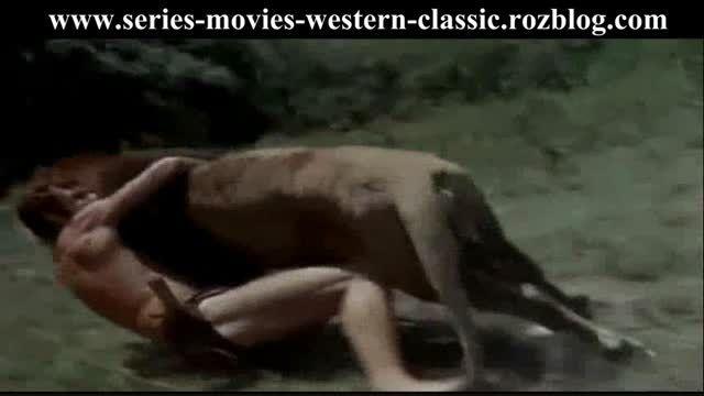 صحنه ای دوبله شده از سریال قدیمی تارزان - 1966
