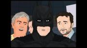 انیمیشن خنده دار بازی بارسلونا و رئال مادرید در تاریخ 18/1/2012