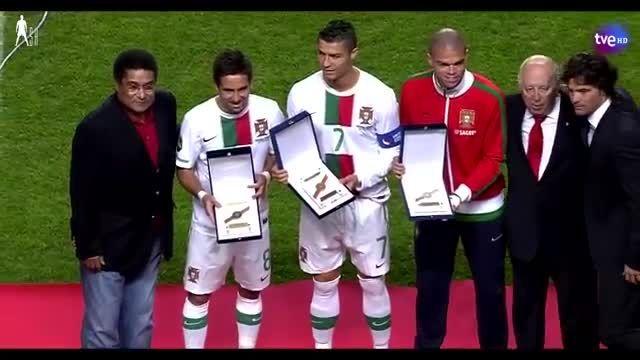هایلایت بازی کامل کریستیانو رونالدو مقابل اسپانیا(2010)