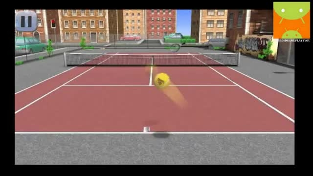 گیم پلی بازی اندرویدی Hit Tennis 3