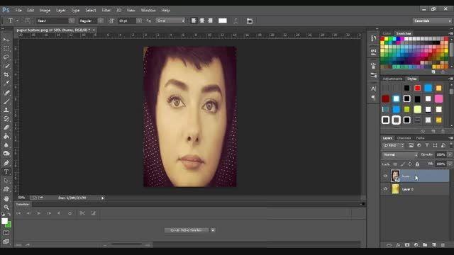آموزش ایجاد افکت روی تصاویر در فتوشاپ