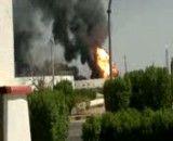 حادثه آتش سوزی در پتروشیمی بندر امام