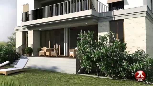 انیمیشن معماری - نمونه انیمیشن با ( Vray )