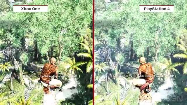 Assassins Creed IV Black Flag Graphics Comparison