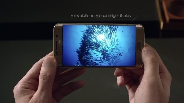 ویدیوی جدید تبلیغاتی گلکسی اس 6 و اس 6 اج سامسونگ