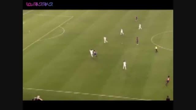 تیم فوتبال بارسلونا و جوانی مسی فیلم کلیپ گلچین صفاسا