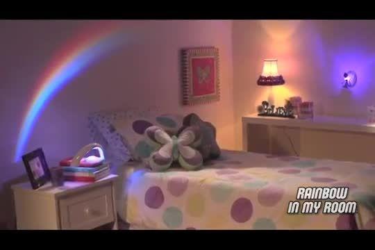 چراغ خواب رنگین کمان برای اتاق کودک و بزرگ
