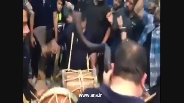 عزاداری بوشهری با صداپیشه جناب خان