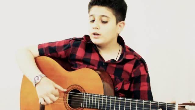اجرای زنده علی قربانپور با گیتار