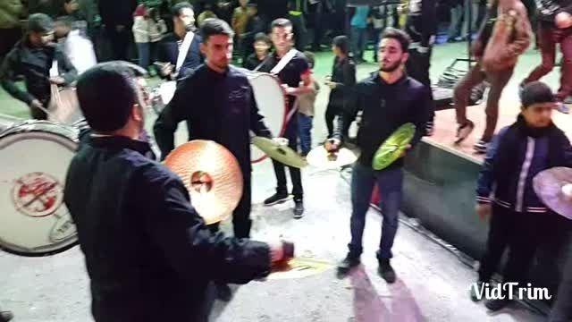 گروه موزیک آوار دماوند در شب هشتم محرم سال 1394
