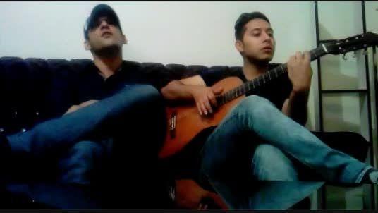 اجرای زنده با گیتار