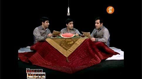 متن خوانی جمال و کمال وجلال خانعلی  و آدم برفی ِخاکپور