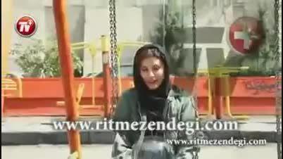 سحر دولتشاهی در چالش سطل آب یخ - Sahar Dolatshahi ALS