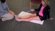 تمرینات ورزشی  جهت تقویت عضلات و سلامت پا