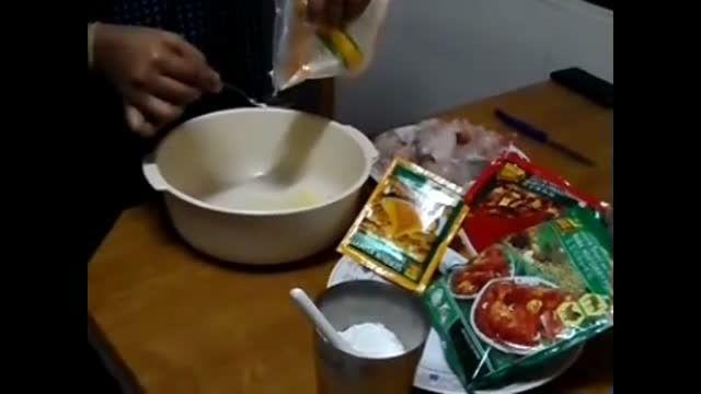 مرغ سوخاری تند هندی